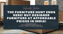 The Furniture Hunt Ends Here! Buy Designer Furniture at Affordable Prices in India!
